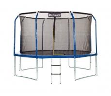 Trampolína Marimex 457 cm + vnútorná ochranná sieť + rebrík ZADARMO
